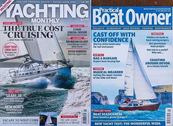 YACHTING MAGAZINES: WE'VE GOT THEM COVERED photos