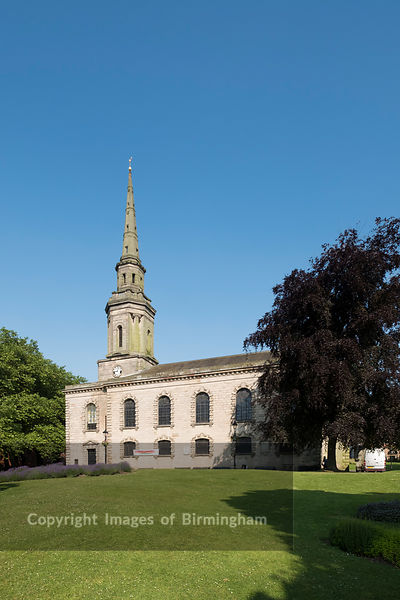 St Pauls Church, The Jewellery Quarter of Birmingham, England