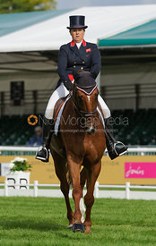 Pippa Funnell and REDESIGNED - Burghley 2015
