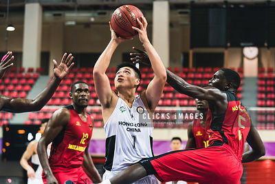 Men's Basketball Places 21th-24th: Hong Kong vs. Mozambique photos