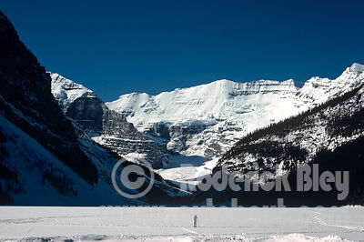 Photog on Lake Louise