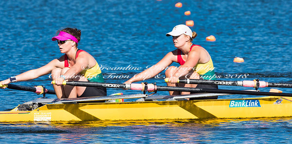 Taken during the National Championships 2018, Lake Karapiro, Cambridge, New Zealand; ©  Rob Bristow; Frame 0795 - Taken on: Thursday - 15/02/2018-  at 08:45.37