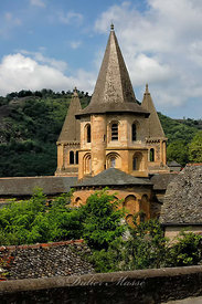 Abbatiale Ste-Foy Conques Aveyron 08/06