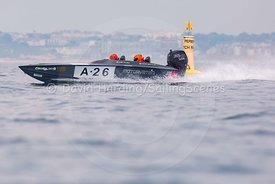 A-26, Fortitudo Poole Bay 100 Offshore Powerboat Race, June 2018, 20180610208