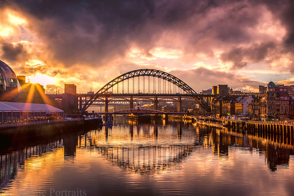 River Tyne & Bridges newcastle prints