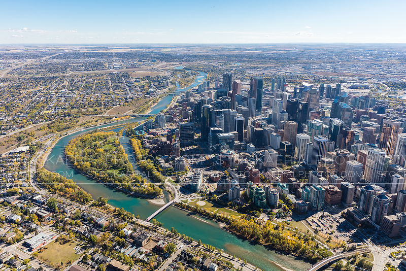 Downtown Calgary / Bow River
