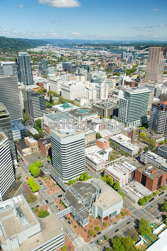 downtown; Portland, Oregon