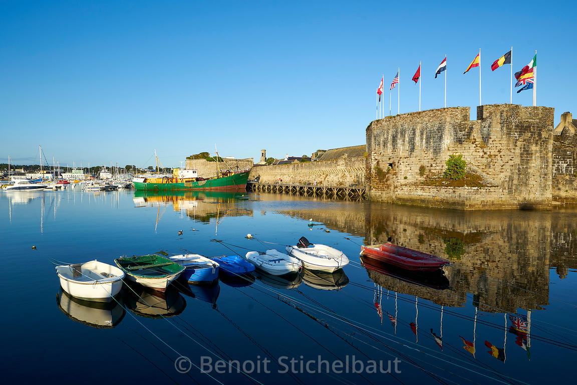 France, Finistère (29), Concarneau, la ville close