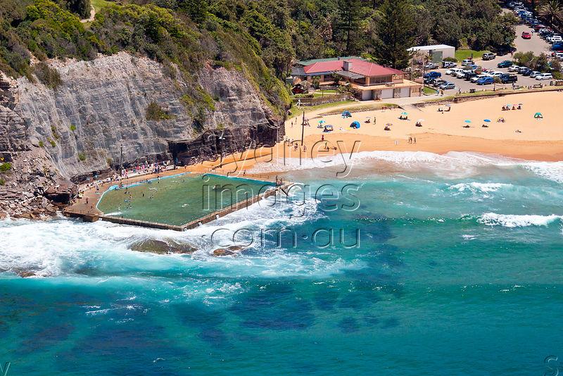 Sydney Aerial Photography - Bilgola Beach