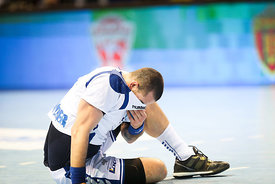 Player of PPD Zagreb during the Final Tournament - Final Four - SEHA - Gazprom league, Bronze Medal Match Meshkov Brest - PPD Zagreb, Belarus, 09.04.2017, Mandatory Credit ©SEHA/ Jozo Čabraja..
