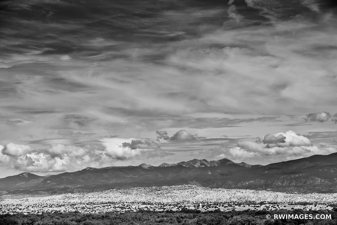 Photo print of northern new mexico landscape black and for Buy fine art photography