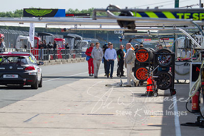 In the pit lane and behind the scenes at the Silverstone 500 - the third round of the 2014 Avon Tyres British GT Championship,  Silverstone, UK - 01 June 2014