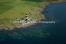 Aerial view  - St John's Point Lighthouse