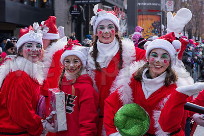 Santa Claus Parade Montreal photos