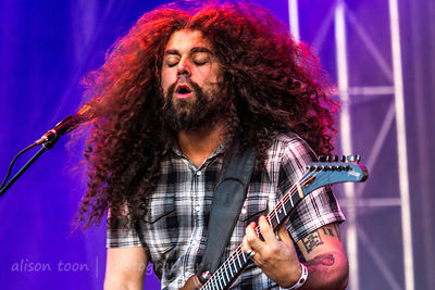 Claudio Sanchez, vocals and guitar, Coheed and Cambria