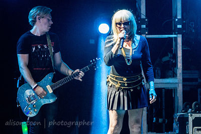 Debbie Harry and Tommy Kessler, Blondie, TBD Fest, Sacramento 2014