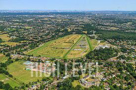Aerial Photography Taken In and Around Esher-Sandown Racecourse