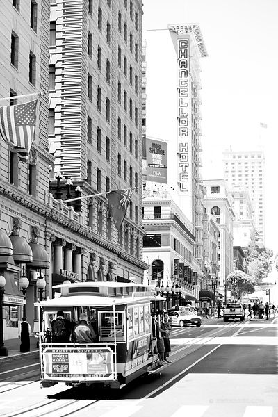 San francisco black and white for Buy art san francisco