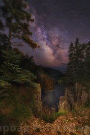 Milky Way Rising Over The Raven's Roost
