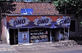 Omo shop near Borobodur