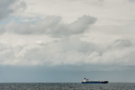 Cargo ship near Denmark