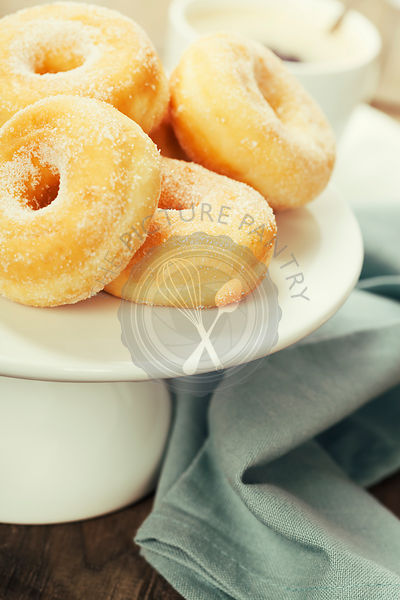 coffe and fresh donuts