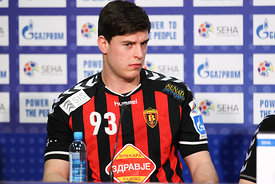 Mihajlo MARSENIĆ of Vardar during the Final Tournament - Final Four - SEHA - Gazprom league, semi finals match, Varazdin, Croatia, 03.04.2016..Mandatory Credit ©SEHA/Zsolt Melczer