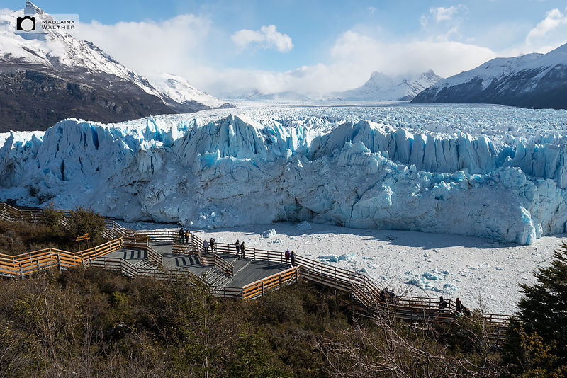 View on Perito Moreno glacier