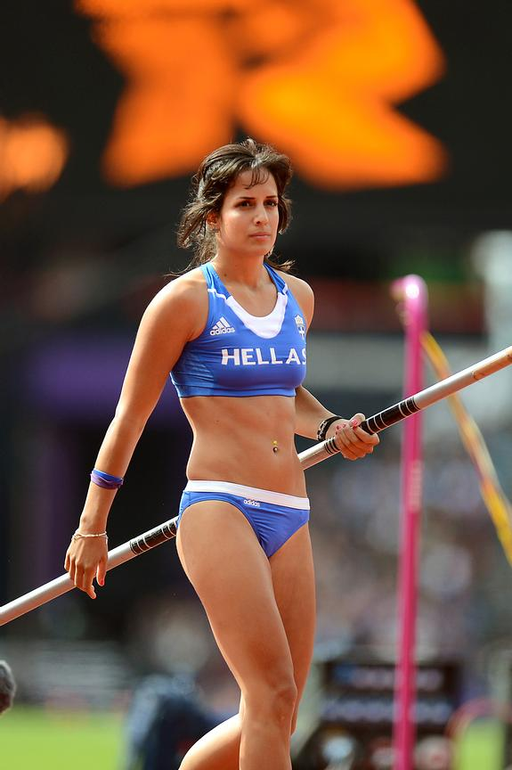Stella Ledaki (GRE),2012 London Olympics Day 8