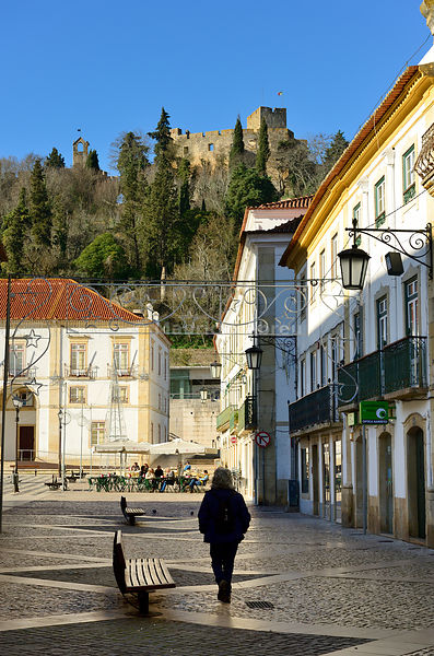 The historic center of Tomar. Portugal