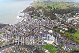 Aerial Photography Taken In and Around Aberystwyth