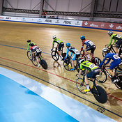 Junior Men Scratch Race. Ontario Track Championships, March 3, 2018