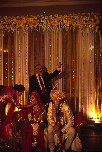 A society wedding New Delhi