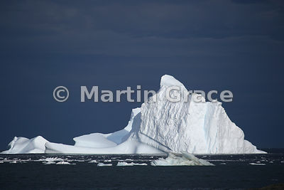 Spectacular iceberg in Marguerite Bay, Antarctic Peninsula