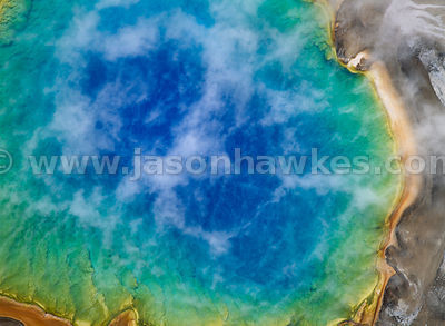 Grand Prismatic Hot Spring, Yellowstone Park