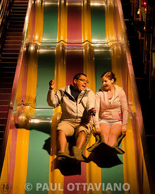 Giant Slide Couple