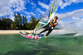 Windsurf au Morne