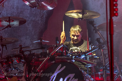 Ray Luzier, drums, Korn