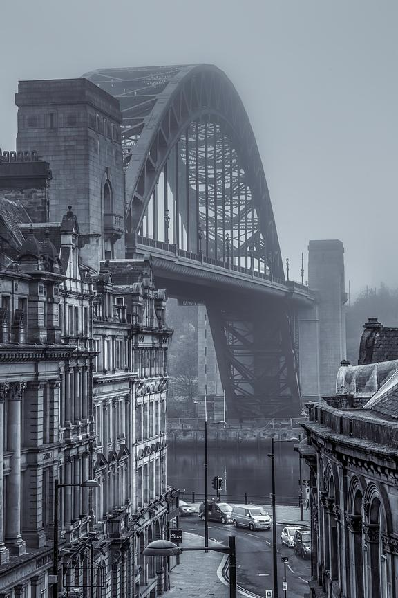 Tyne Bridge from Sandhill (2)
