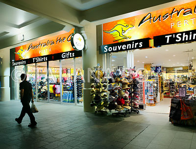 Souvenir store in Perth