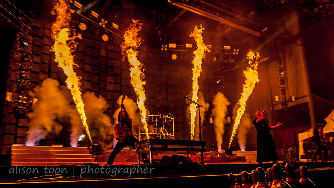 Disturbed at Chicago Open Air 2016 photos