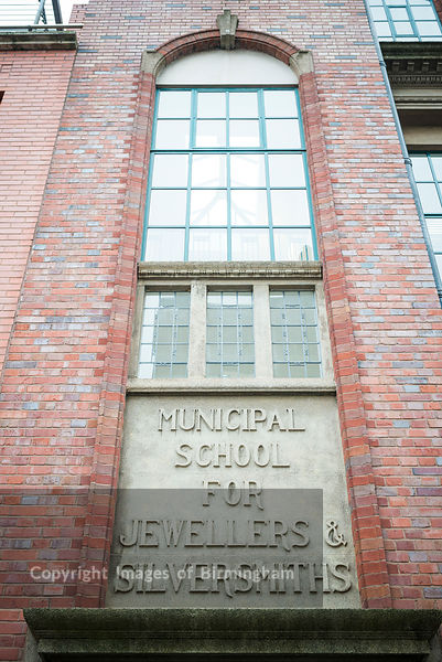 The BCU School of Jewellery, The Jewellery Quarter, Birmingham