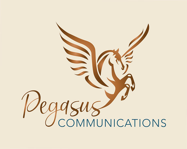 Pegasus Communication_logo_cream background