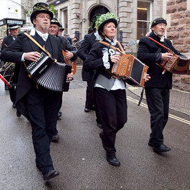 St Ives feast photos