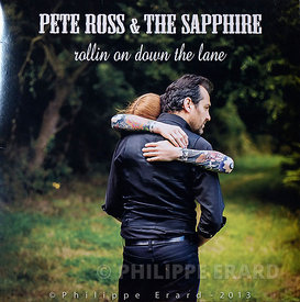 Couverture du CD et 33t Vinyl de Pete Ross & the Sapphire (2013)