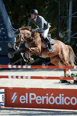 Henrik VON ECKERMANN ,(SWE), GOTHA FRH during Coca-Cola Trofey competition at CSIO5* Barcelona at Real Club de Polo, Barcelona - Spain