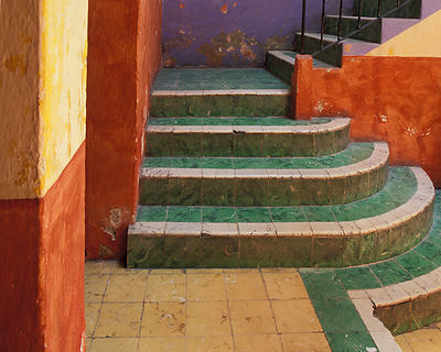 San Miguel Colorful Stairs #2
