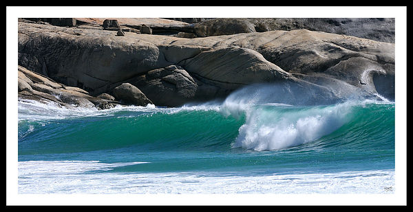 La vague de Llandudno-Clifton-South Africa