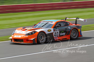 CWS 4x4 Spares Ginetta G55 GT4 in action at the Silverstone 500 - the third round of the British GT Championship 2014 - 1st June 2014