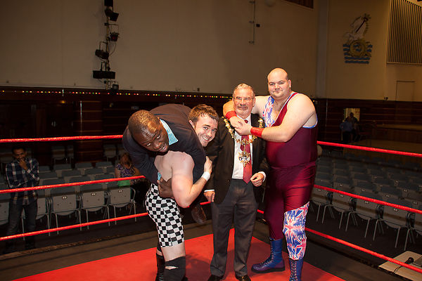 Wrestling Promotion Photoshoot